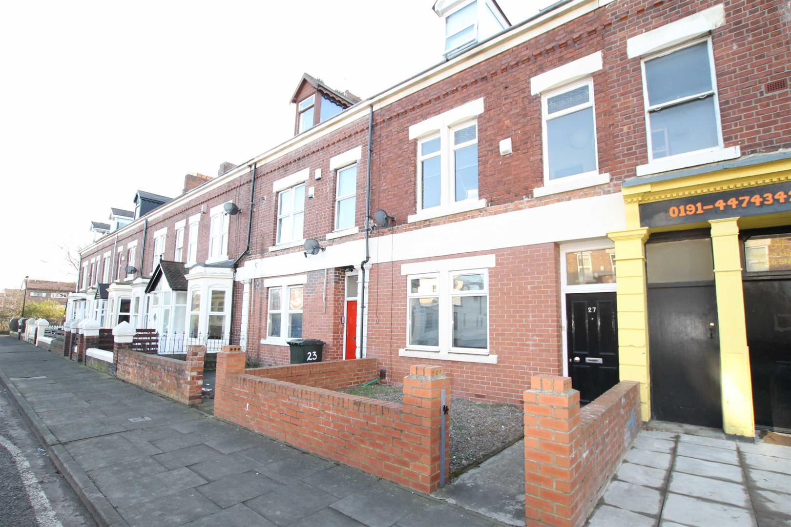 Heaton Hall Road Newcastle Upon Tyne, 7 Bedrooms  House - terraced ,Sold (STC)